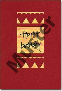 Greeting card (birthday only)